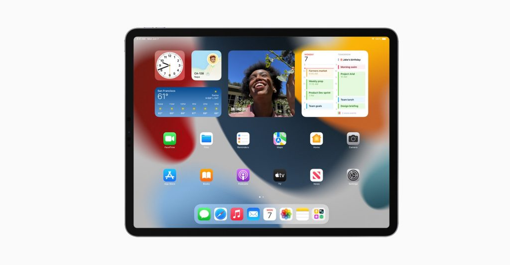 iPadOS 15 Personalisation with Widgets