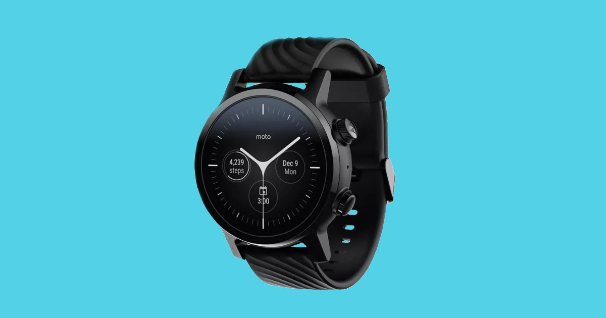 Moto 360 (3rd Gen) Smartwatch Powered by Snapdragon Wear 3100 Chip Launched in India for ₹19,990