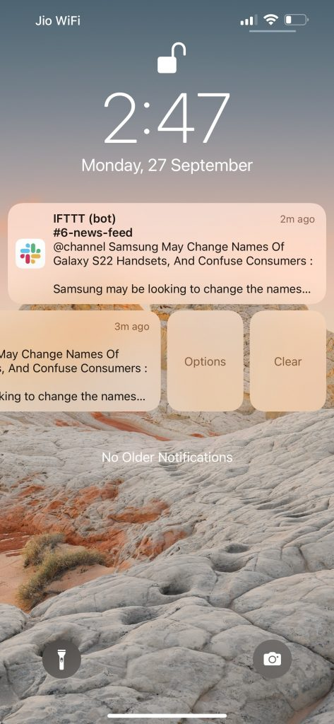Apple iPhone 13 Pro Max Notifications Options