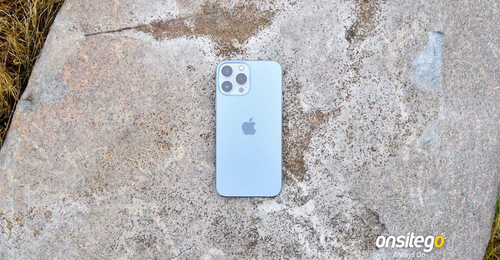Apple iPhone 13 Pro Max Rear Design