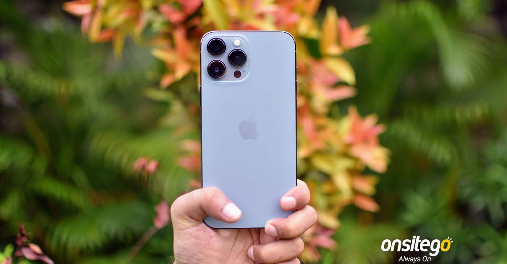 Apple iPhone 13 Pro Max Rear Design Camera Lenses