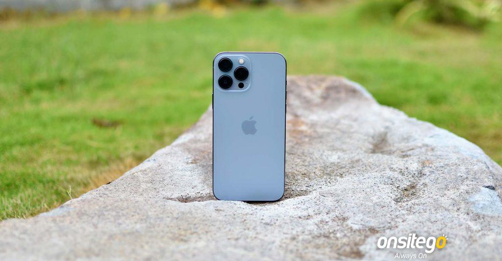 Apple iPhone 13 Pro Max Rear Sierra Blue