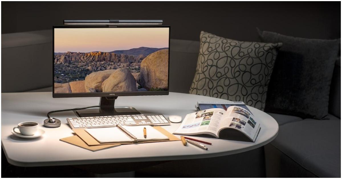 BenQ WiT ScreenBar, BenQ WiT ScreenBar Plus Monitor Lights For Your Late Night Work Sessions