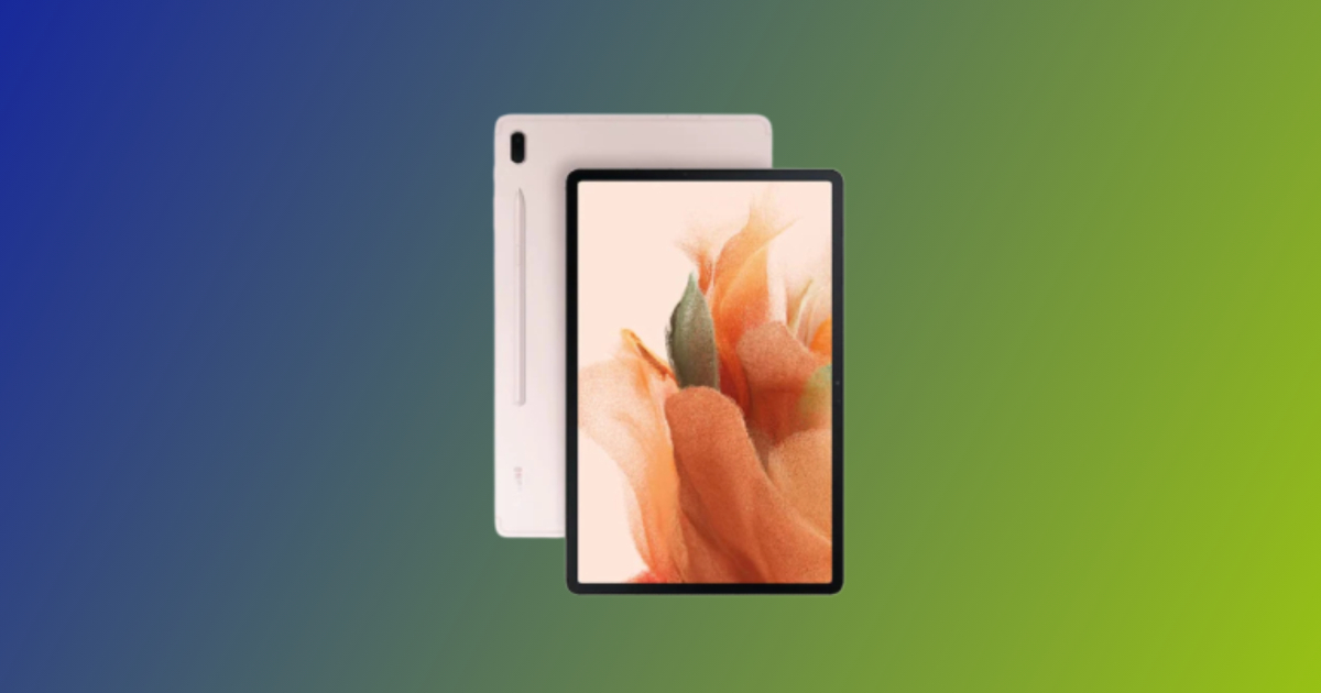 Samsung Galaxy Tab S7 FE Wi-Fi Variant With Snapdragon 778G Processor Launched In India