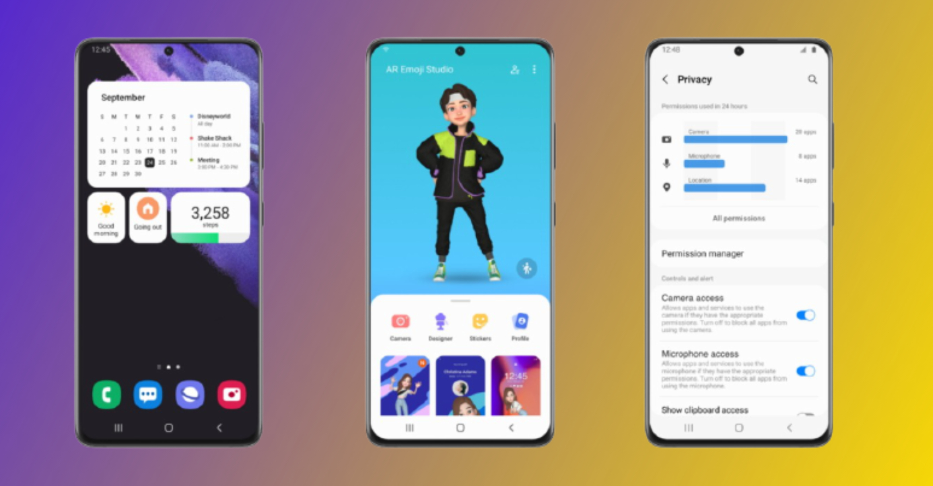 Samsung One UI 4.0 Features