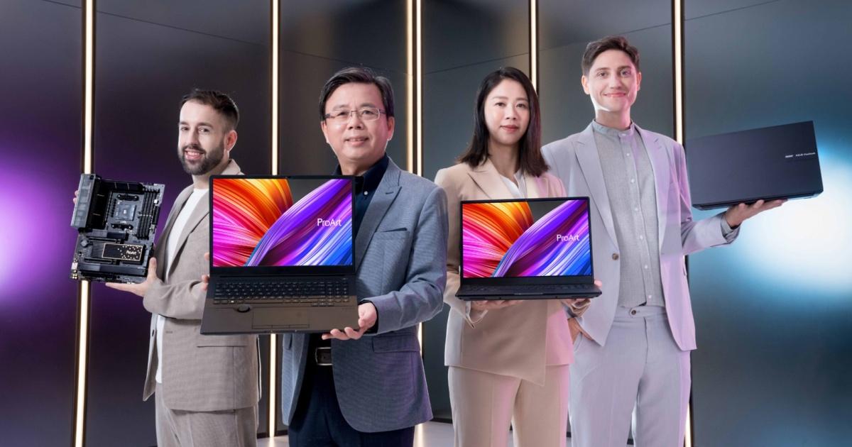 Asus Unveils ProArt Studiobook, Vivobook, and Zenbook  Laptops with OLED Screens