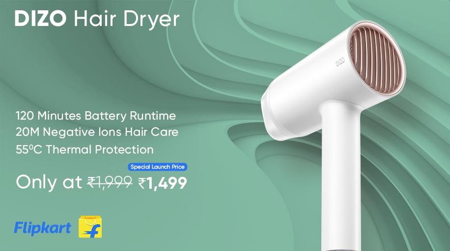 Dizo hair dryer
