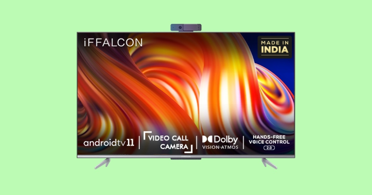 iFFalcon Launches Android TVBased 55-inch K72 4K LCD TV For ₹51,999
