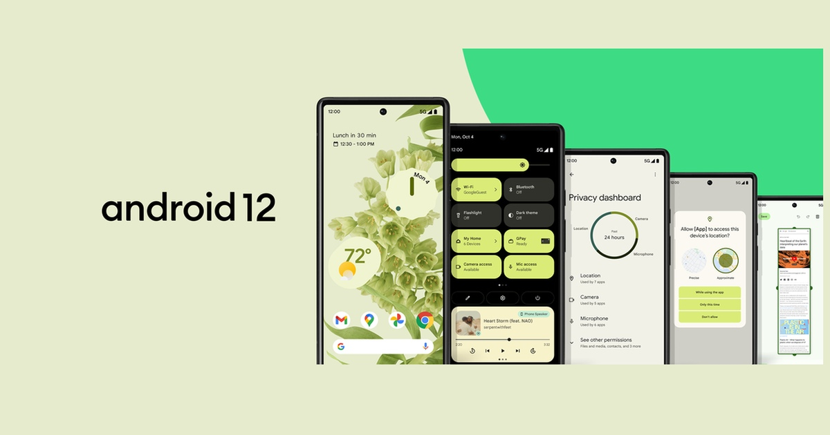 Android 12 Update