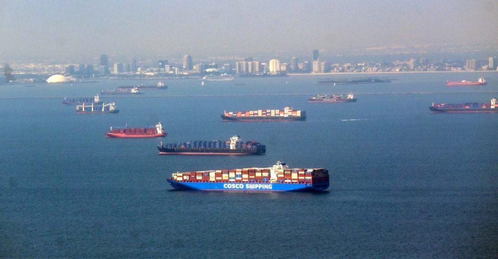 California Container Ship Jam Worsened Global Chip Shortage