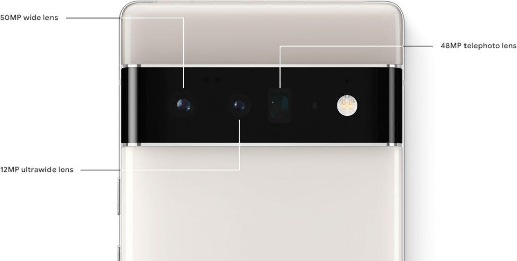 Google Pixel Pro Camera Specifications
