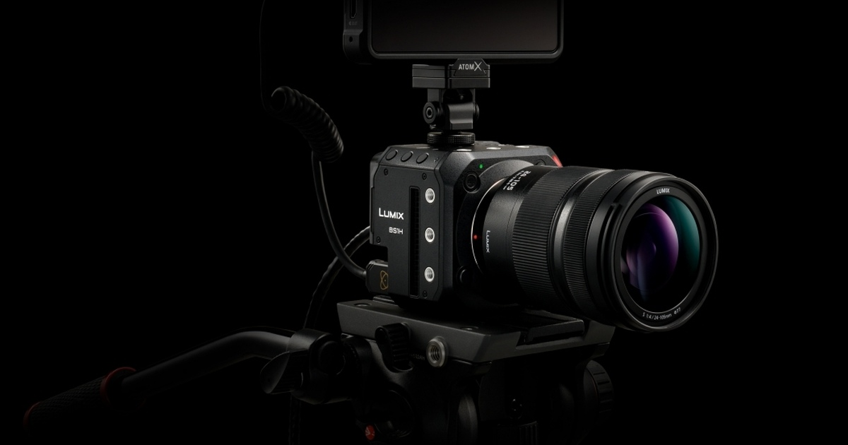 Panasonic LUMIX BS1H Full-Frame Camera With Box-Style Body Launched