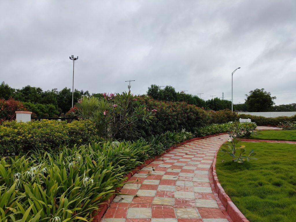 Realme GT 5G - Rear Camera Landscape