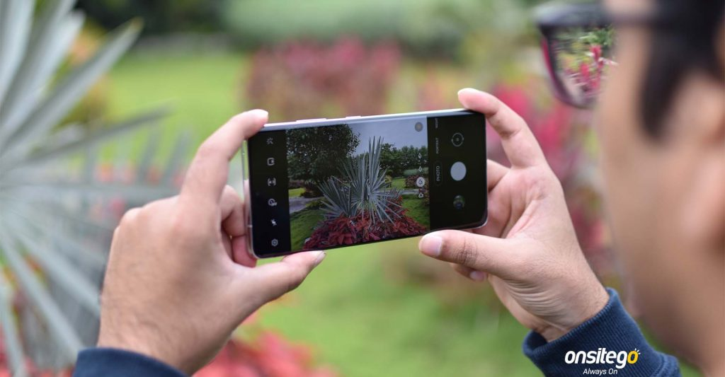 Samsung Galaxy S21 Ultra Camera UI