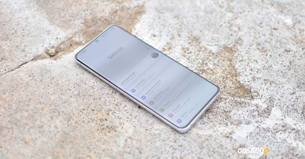 Samsung Galaxy S21 Ultra Software
