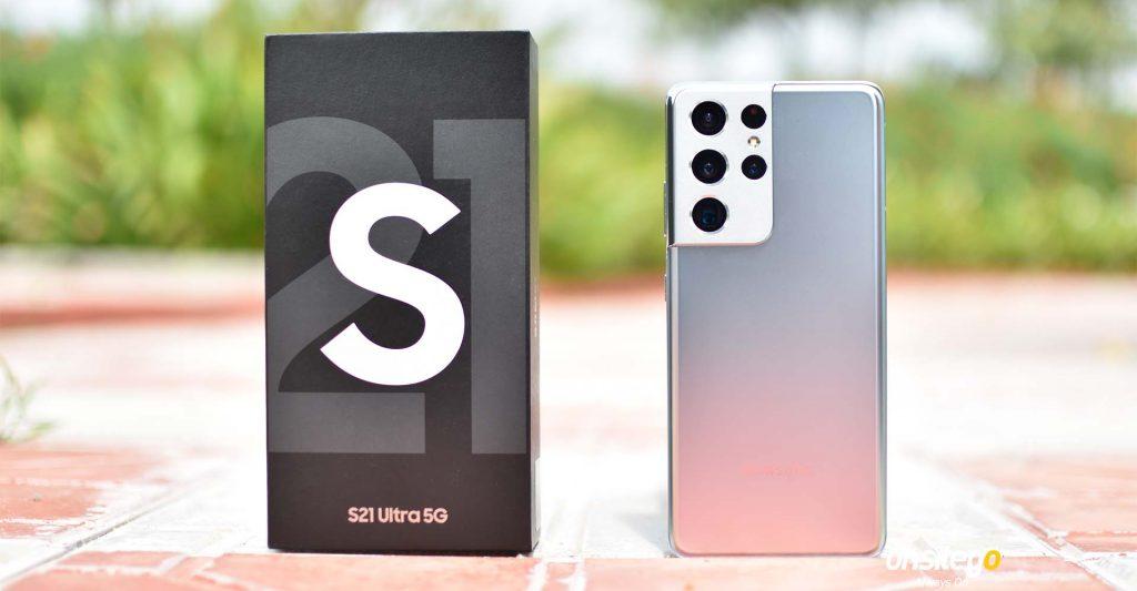 Samsung Galaxy S21 Ultra With Box